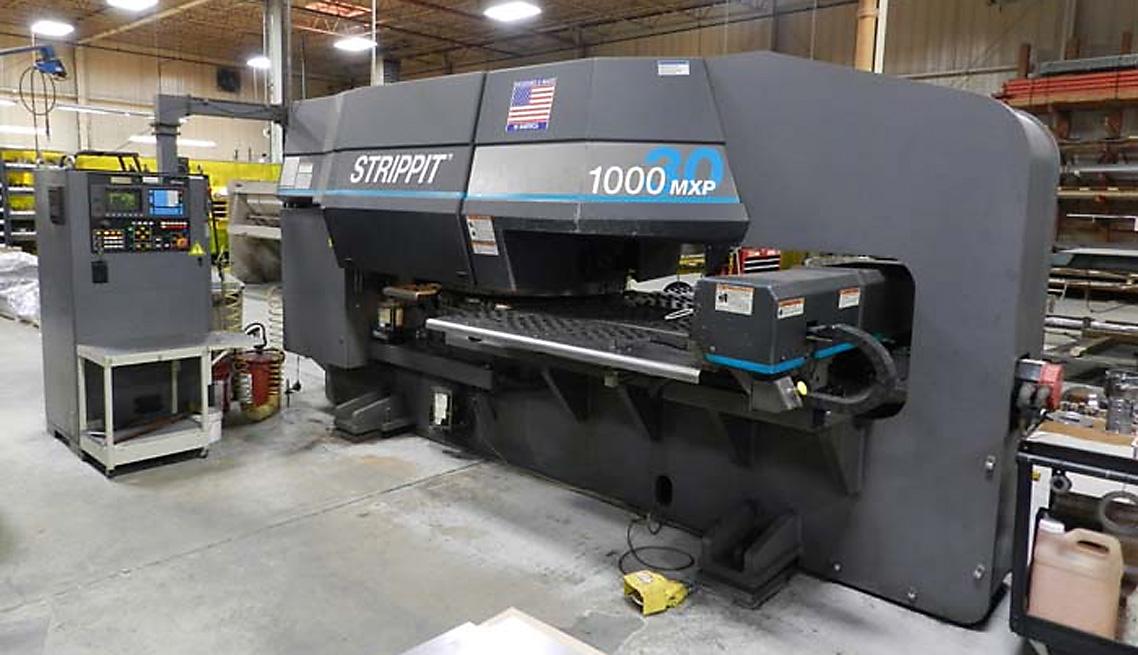 Strippit 1000MXP30 CNC Thin Turret Punch