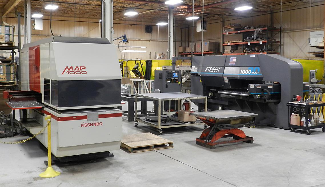 Multiple CNC Punch Press